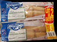 Filets de harengs fumés - Product - fr