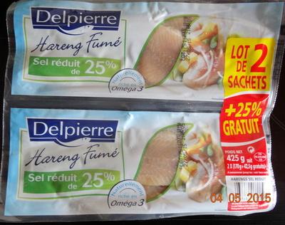 Hareng fumé, sel réduit de 25%, lot de 2 - Product - fr