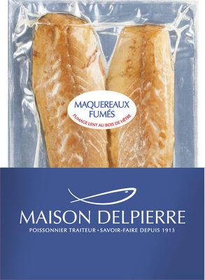 Maquereau fumé nature Delpierre - Product - fr