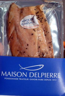 Filets de maquereaux fumés au poivre - Product