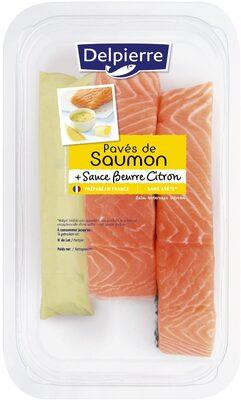 Pavé de saumon sauce beurre citron - Product
