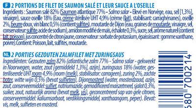 Saumon Sauvage - Ingrediënten - fr