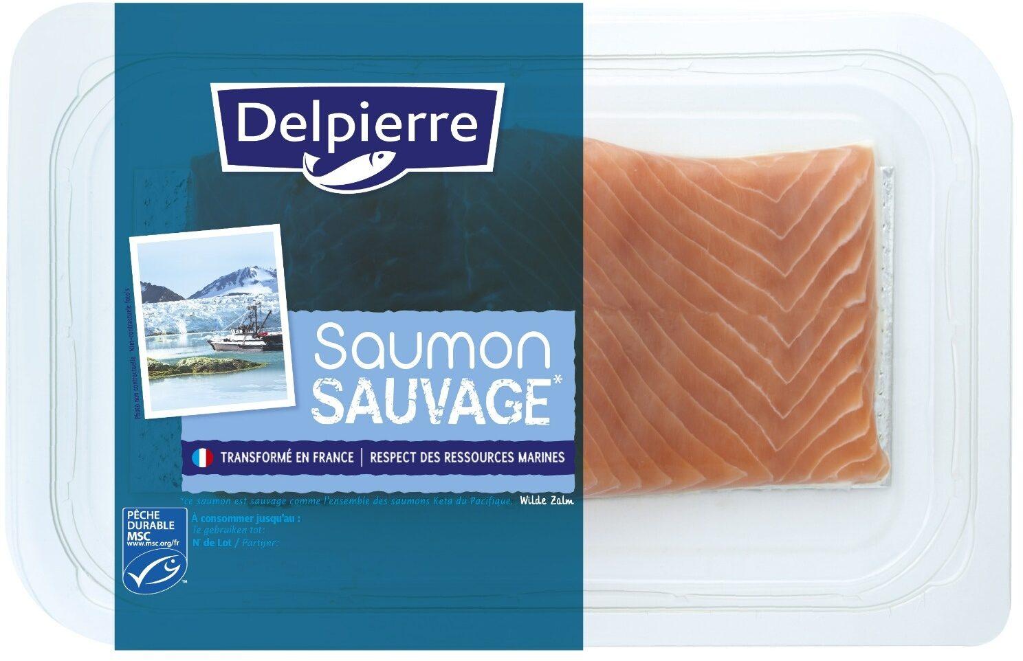 Saumon sauvage Delpierre - Produit