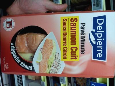 Pavé Minute : Saumon Cuit sauce Beurre Citron - 2