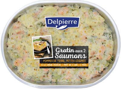 Gratin aux 2 saumons, pommes de terre & petits légumes - Produit - fr