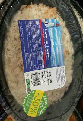 Risotto aux 2 saumons - Produit