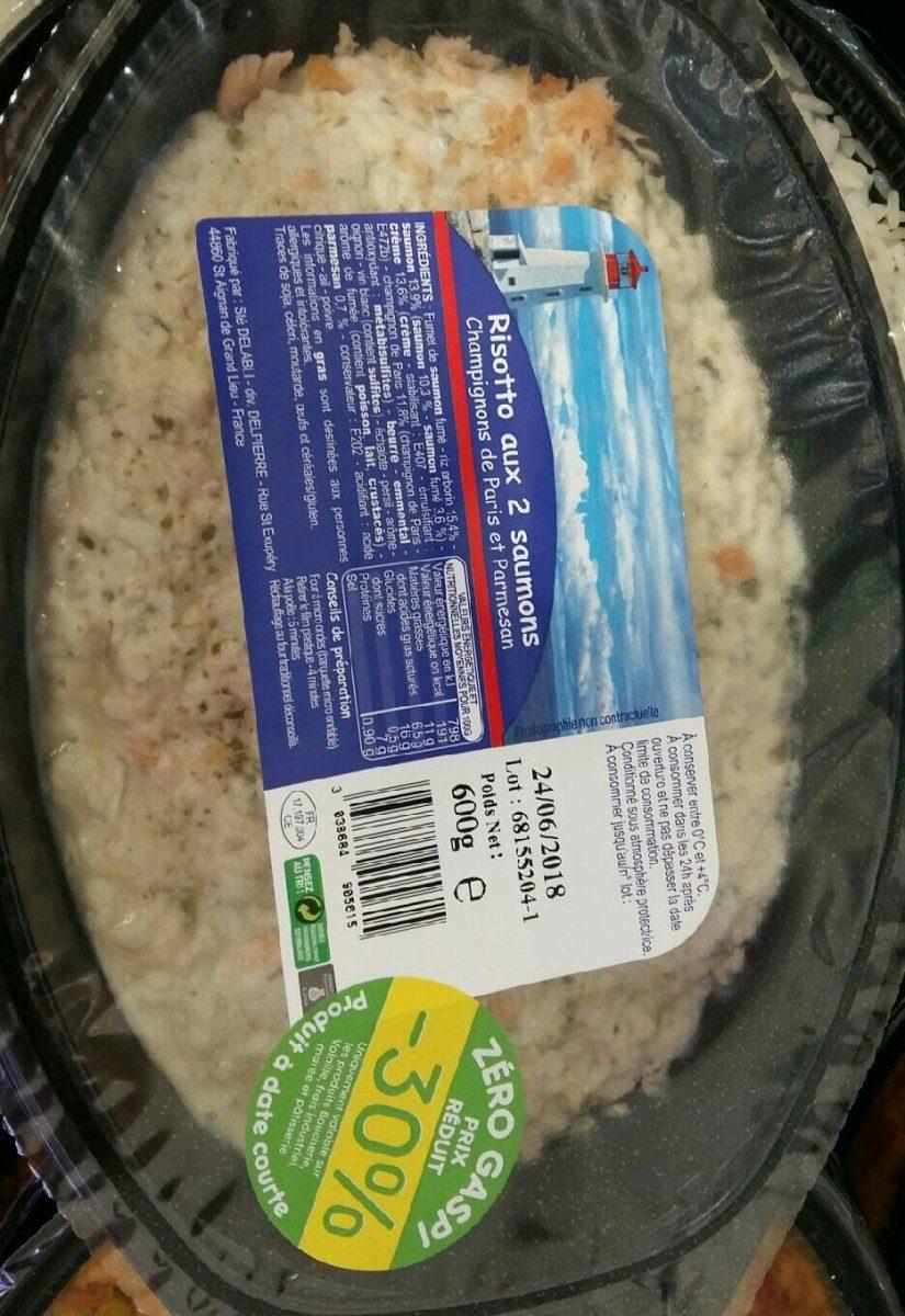 Risotto aux 2 saumons - Produit - fr