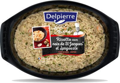 Risotto aux noix de St Jacques et Langouste - Produit