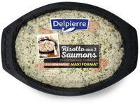 Risotto aux 2 saumons, champignon et parmesan - Product - fr