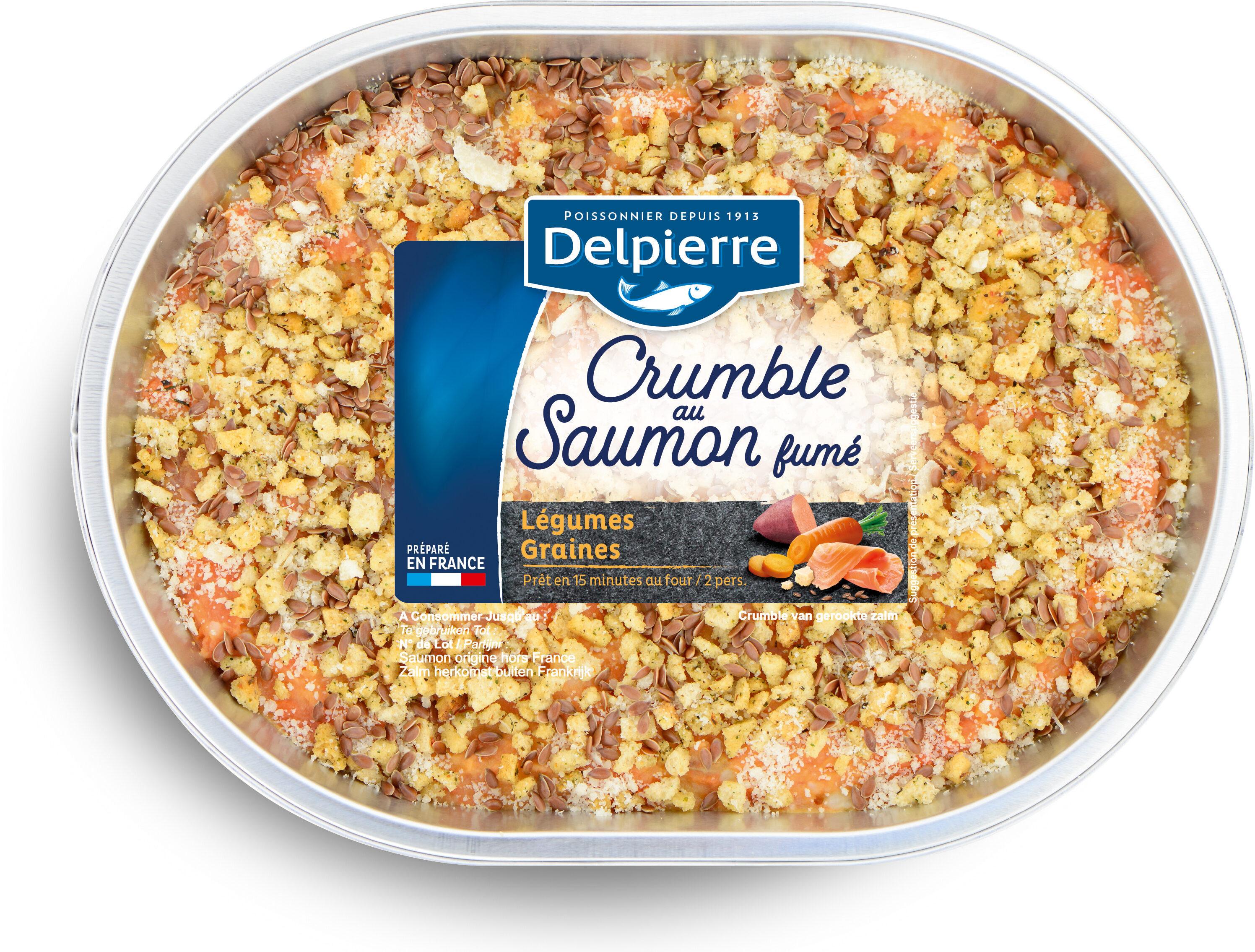 Crumble au saumon fumé - Product - fr