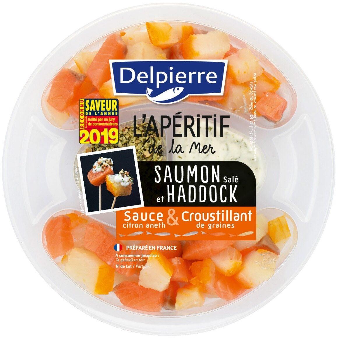 Saumon salé & Haddock, sauce et croustillant - Product - fr