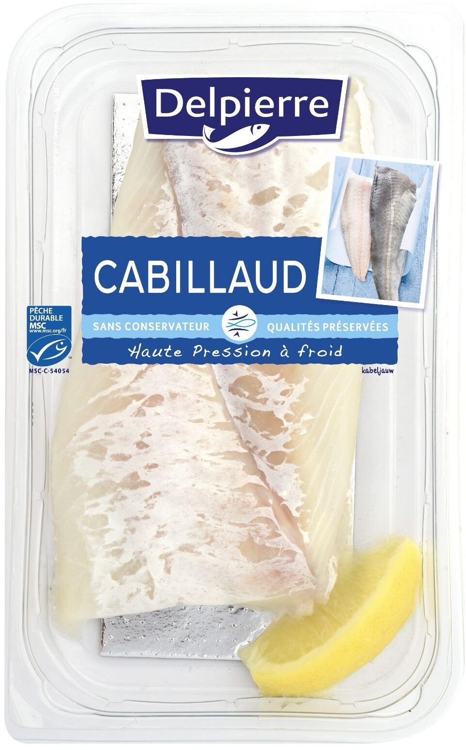 Filets de Cabillaud Delpierre - Product