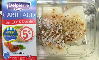 Cabillaud Tomate & Basilic - Produit - fr