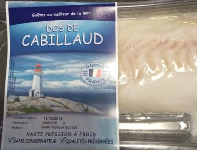 Dos de Cabillaud - Product