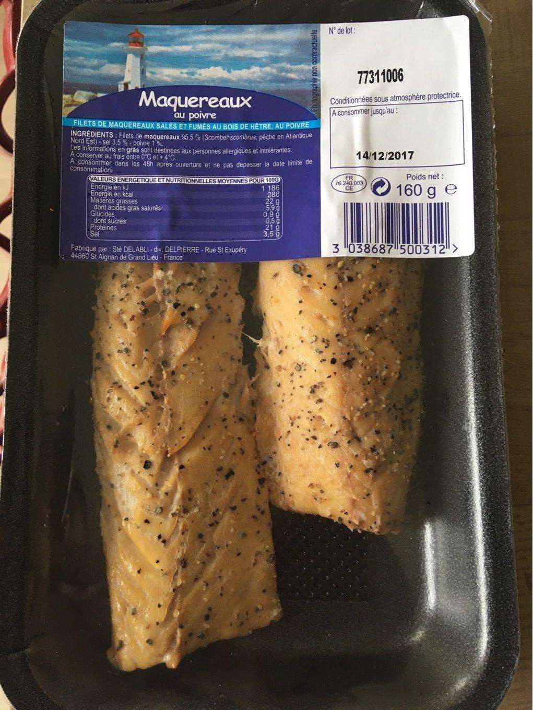 Maquereaux au poivre - Product