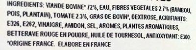 30 Boulettes de Viande - Ingredients