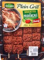 Brochette de boeuf à la provencale - Produit