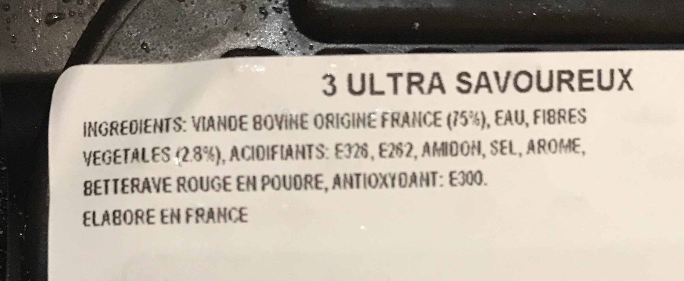 3 Ultra Savoureux 15%MG - Product