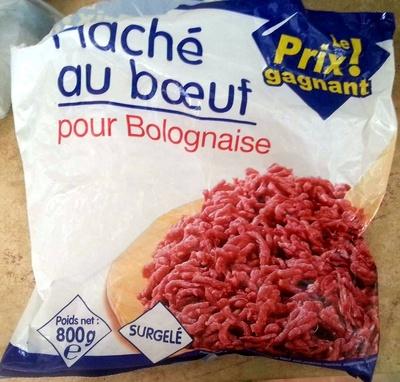 Hache au boeuf pour Bolognaise - Produit
