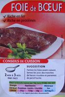 Foie de Bœuf (1 tranche) - Product