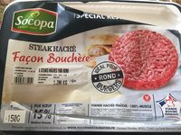 Steak Haché Façon Bouchère - Spécial Restauration - Produit - fr