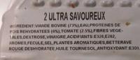 L'Ultra Savoureux à la Tomate - Ingrédients