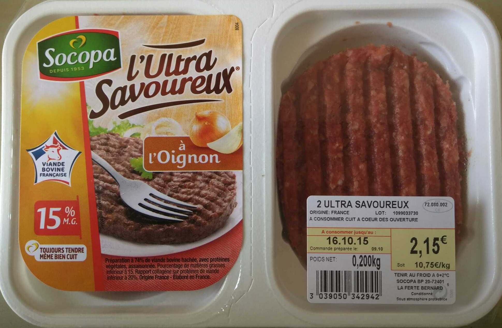L'Ultra Savoureux à l'oignon - Produit