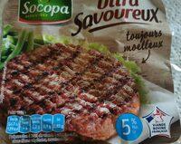 Ultra savoureux, 5% MAT.GR, SOCOPA, barquette, 8x100g - Produit - fr