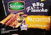 Brochitos à la mexicaine - Produit - fr