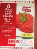 Steaks hachés façon bouchère Halal - Produit - fr