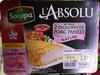 L'Absolu (kit pour 2 escalopes de porc panées nature) - Product
