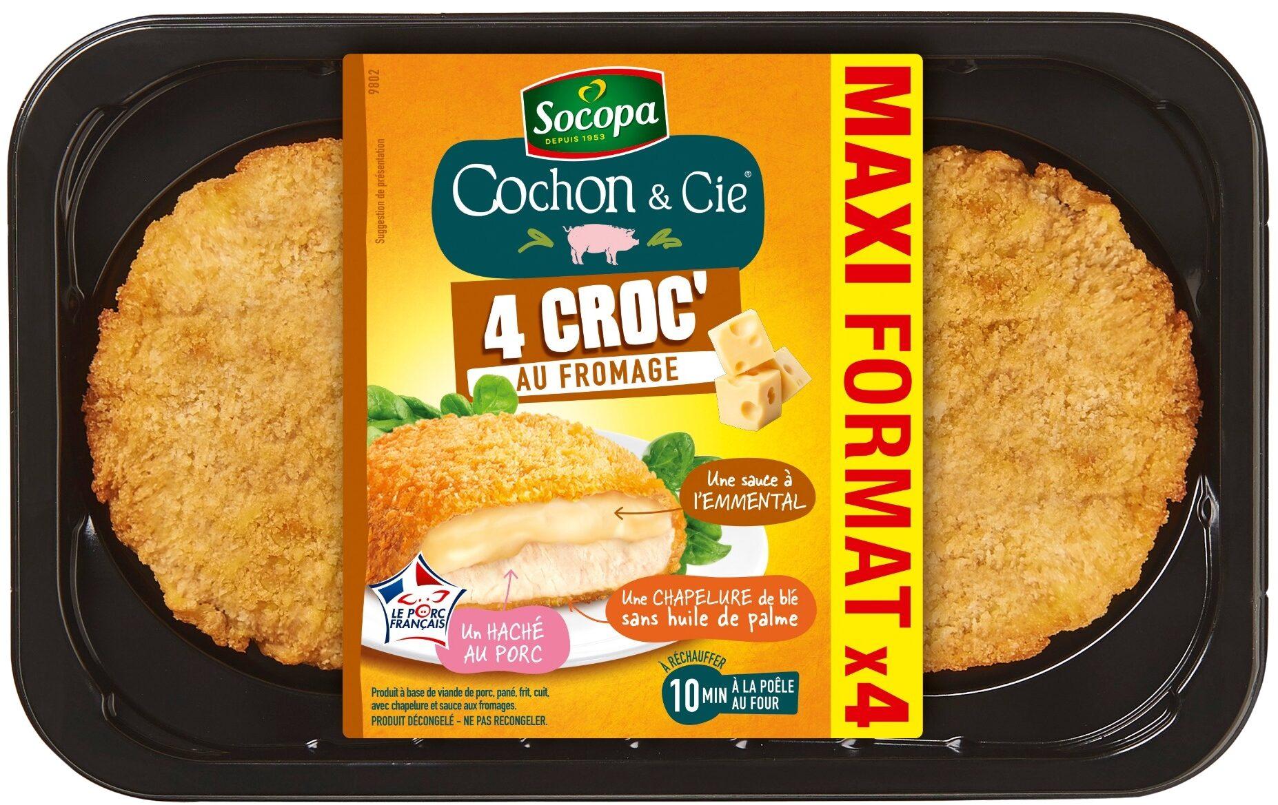 Cochon & Cie - 4 Croc'au fromage - Product - fr