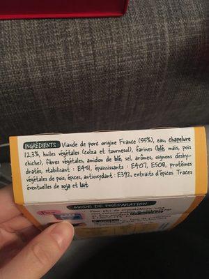 Nuggets de porc - Ingrédients - fr