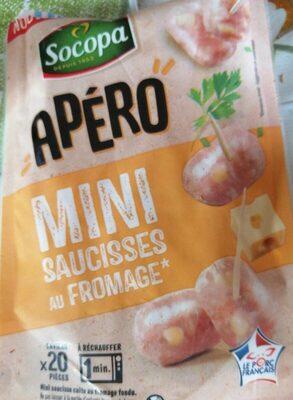 APERO MINI SAUCISSE AU FROMAGE - Produit - fr