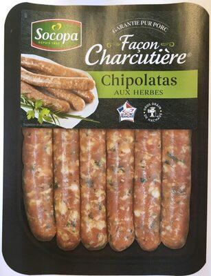 Chipolatas aux Herbes Façon Charcutière - Produit - fr