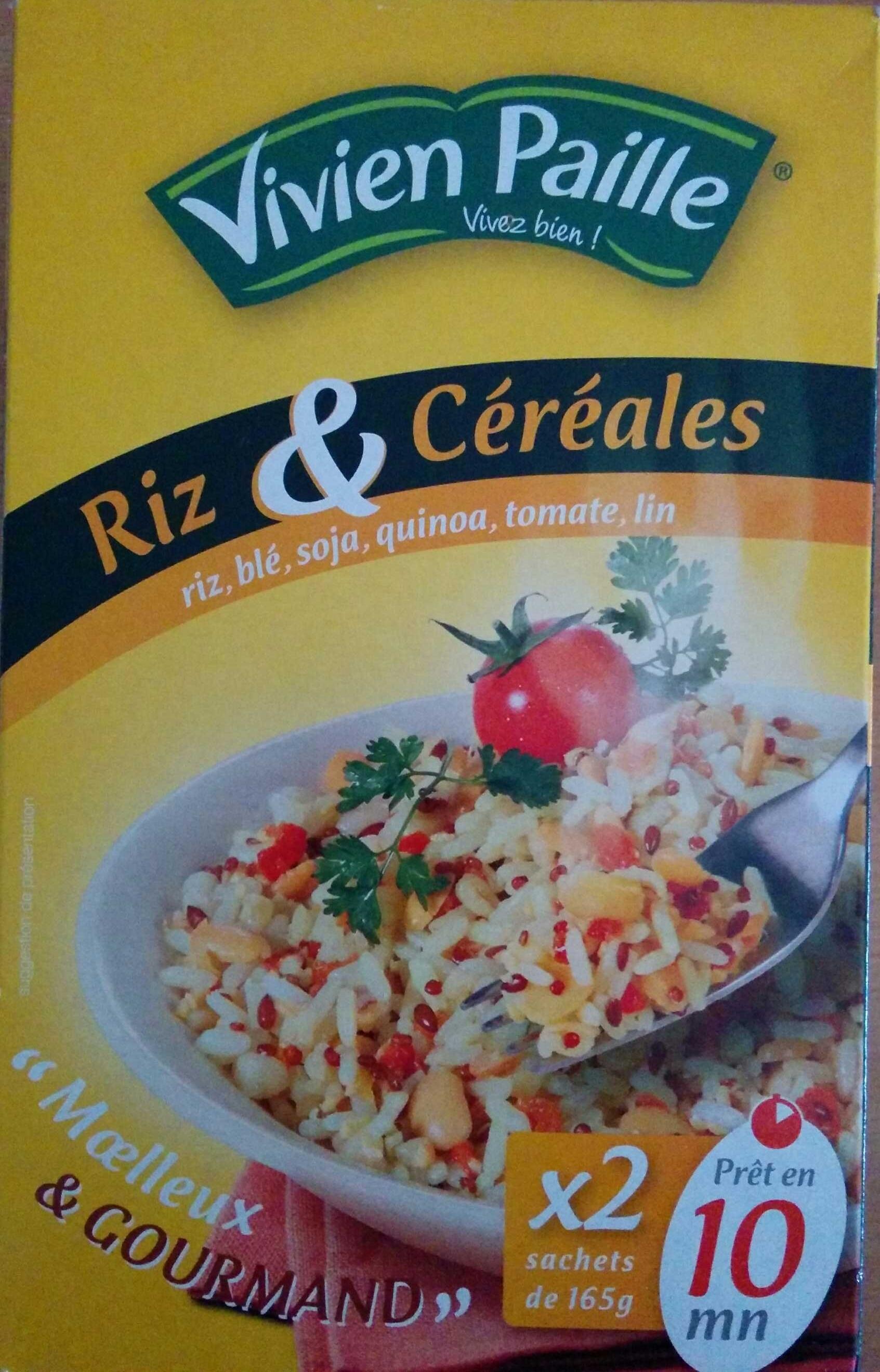 Riz et céréales : riz, blé, soja, quinoa, tomate, lin - Produit - fr