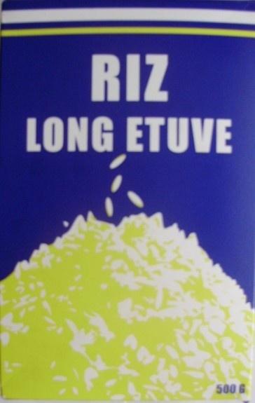 Riz long étuvé - Produit