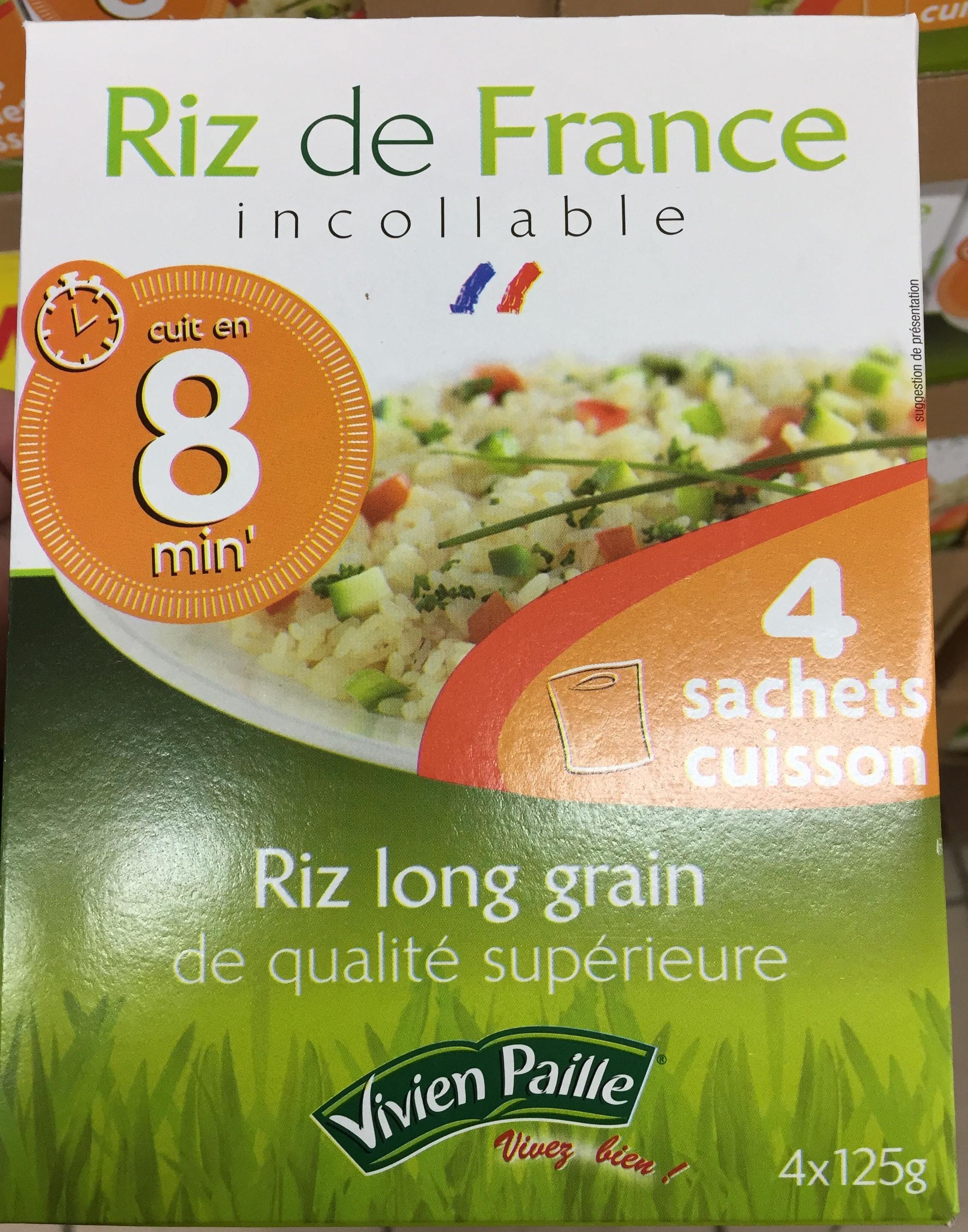 Riz de France incollable - Produit