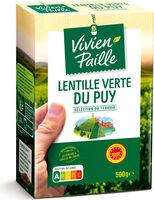 Lentilles vertes du Puy - Produit - fr