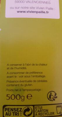 Lentilles vertes du Puy - Ingrédients - fr