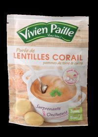 Purée de LENTILLES CORAIL pommes de terre & curry - Product