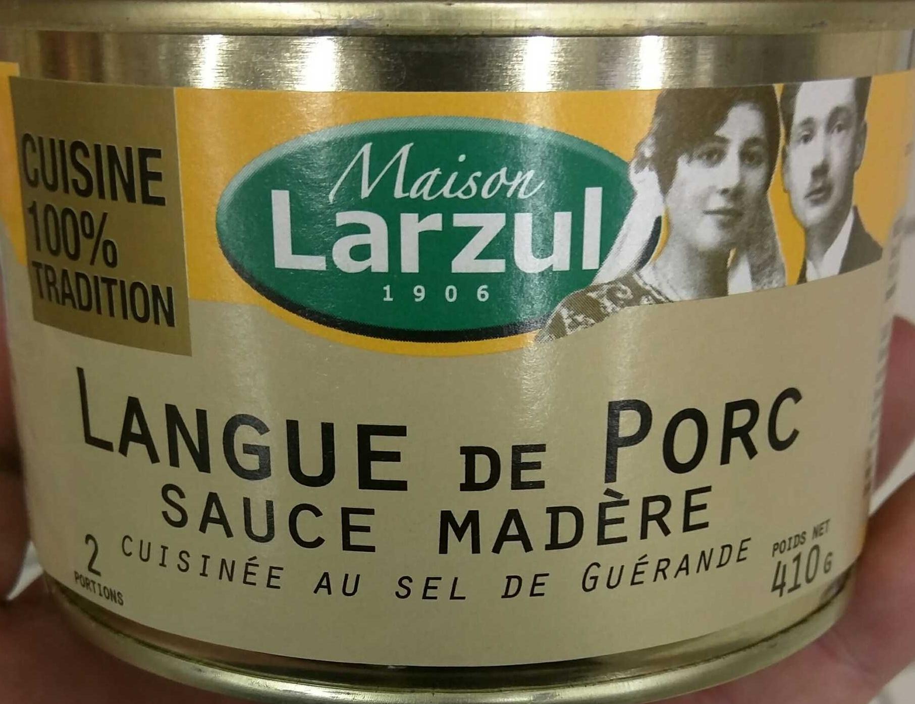 Langue de Porc Sauce Madère - Prodotto