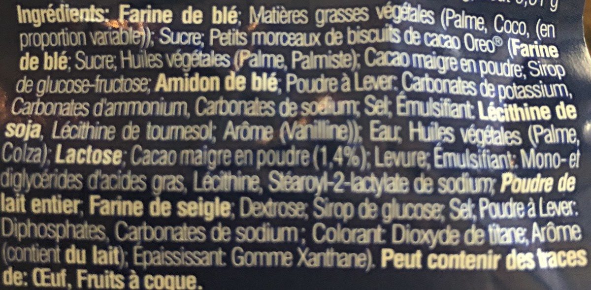 Donut - Ingredients - fr