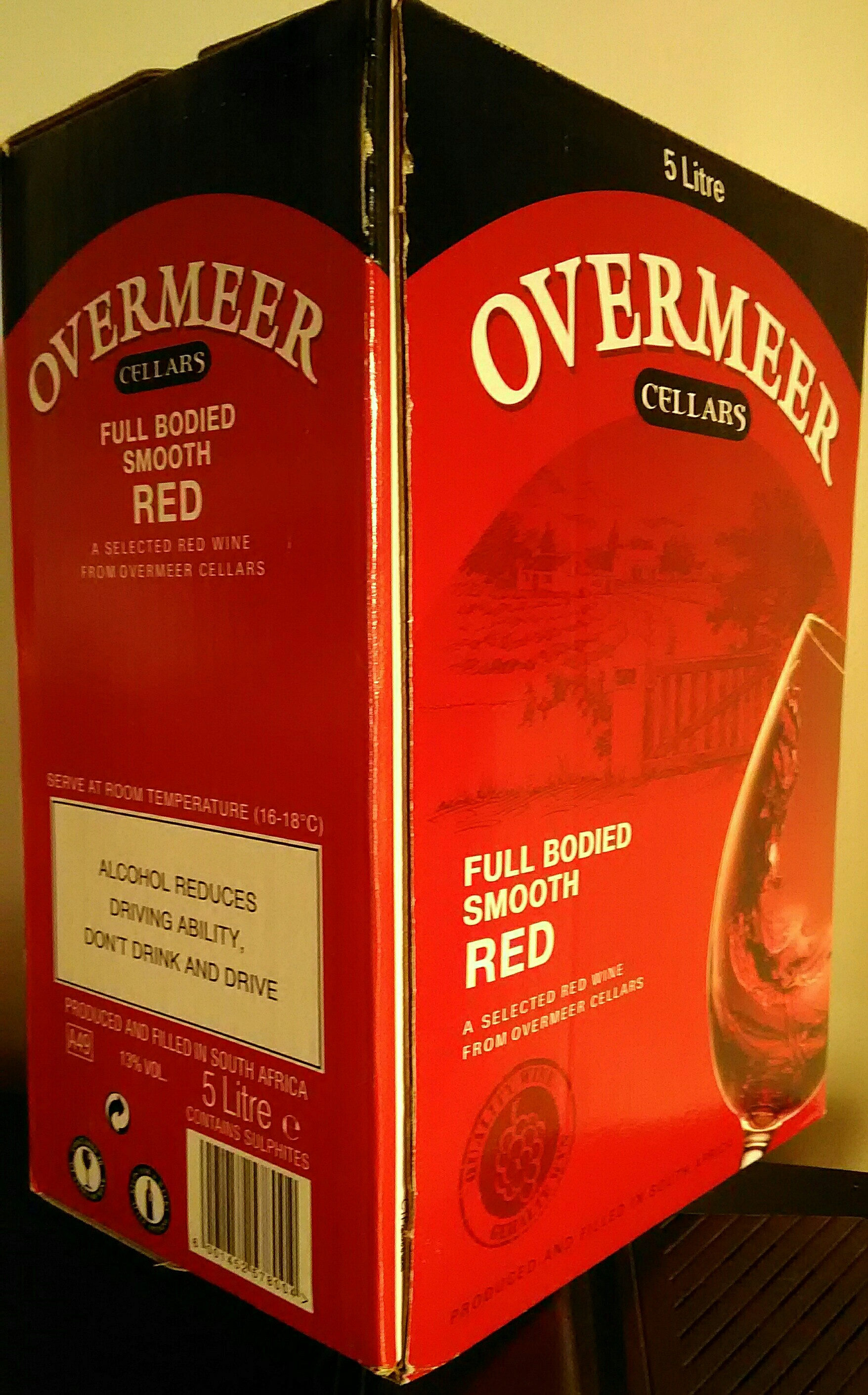 OVERMEER full bodied smooth red - Produit - fr
