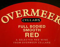 OVERMEER full bodied smooth red - Ingrédients