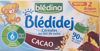 2X25CL Bledi'dej Cacao Bledina - Produit - fr
