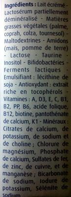 Galliagest premium - Ingrédients