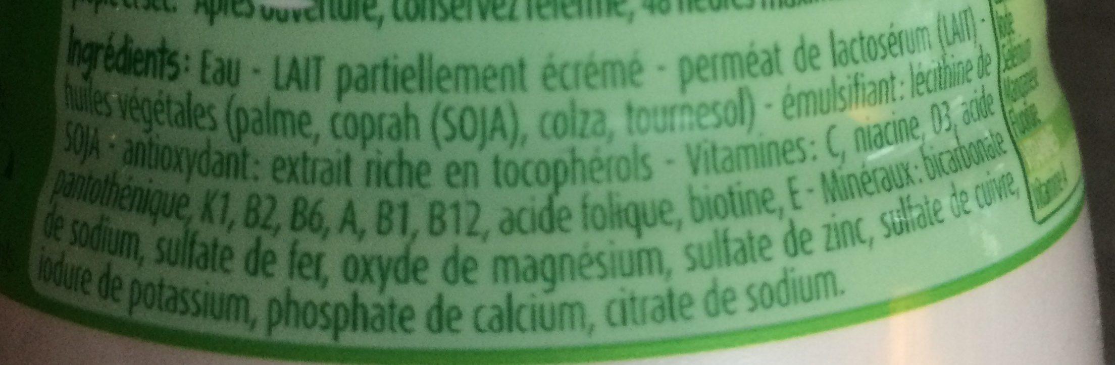 Blédilait Croissance - Ingrédients - fr