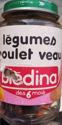 Légumes Poulet Veau - Product