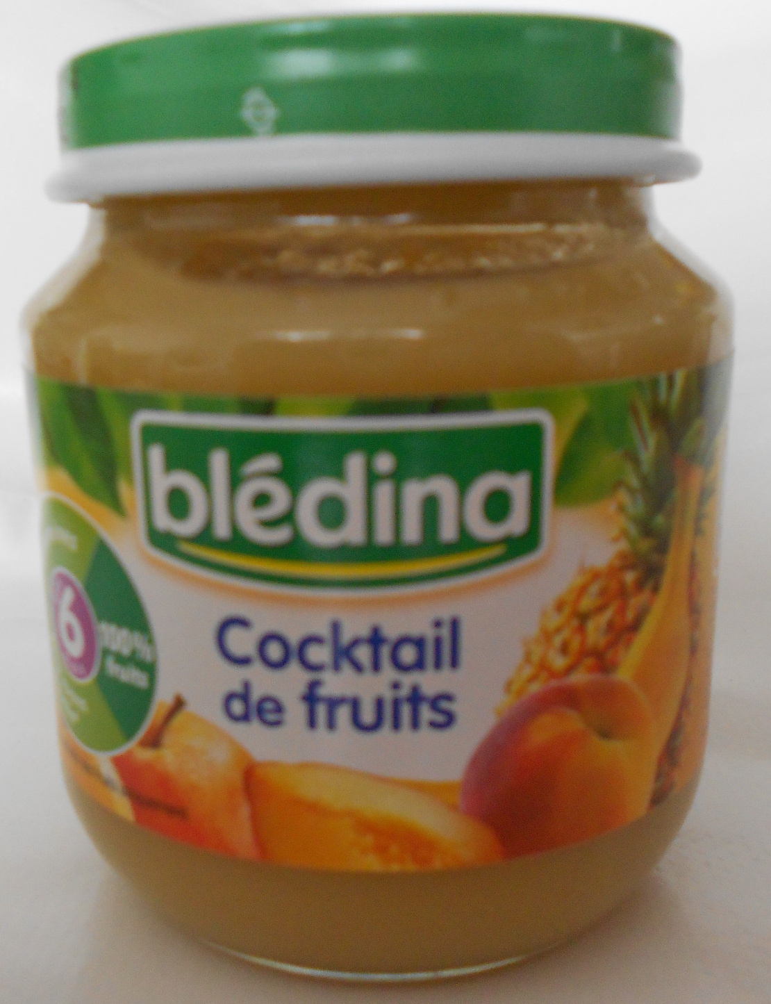 Cocktail de fruits bl dina 130 g for Cocktail de fruit